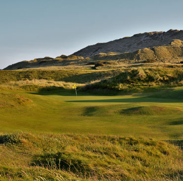 Strandhill Golf Club 14th Hole